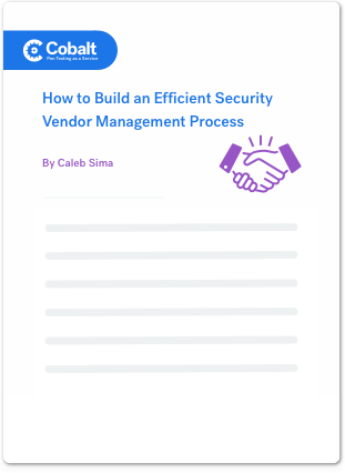 Efficient Security Vendor Management Process Copy-2