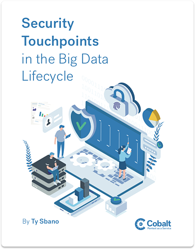 Security Touchpoints in the Big Data Lifecycle