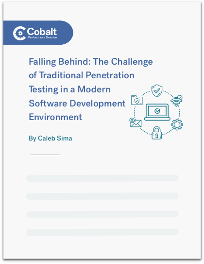 Challenging Traditional Penetration Testing eBook Cover